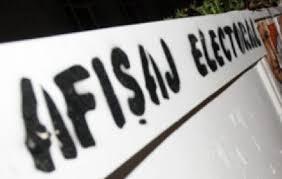 Dispozitie locuri speciale pentru afisajul electoral din comuna Vulcana Pandele